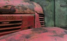 Free Old Red Truck Stock Photo - 2421010