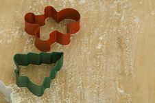 Free Christmas Cookie Cutters Stock Images - 2421614