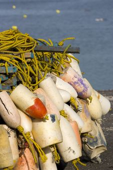 Free Buoys Stock Photography - 2421772