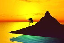 Free Sunset Royalty Free Stock Photos - 2421798