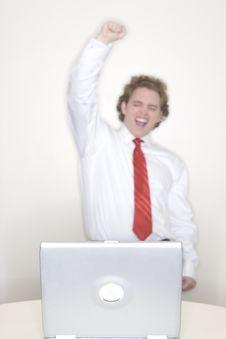 Free Businessman Success Royalty Free Stock Photos - 2422118