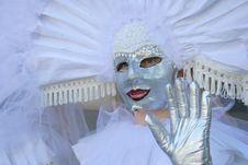 Free Venetian Masks Royalty Free Stock Photography - 2422437