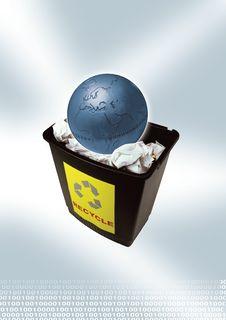 Free Blue Globe Stock Image - 2422441