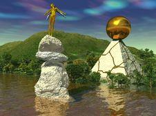 Free Monument Elf Royalty Free Stock Photo - 2422505