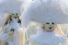 Free Venetian Masks Royalty Free Stock Image - 2422546