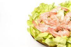 Free Shrimps Royalty Free Stock Image - 2422686