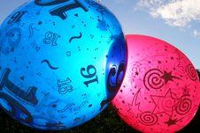 Free Party Balloons Stock Photo - 2422850