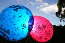 Free Party Balloons Stock Photo - 2422860