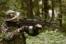 Free United States Machine Gun Royalty Free Stock Images - 2422919