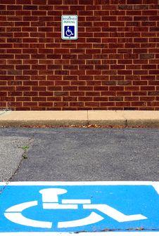 Free Handicap Parking Stock Images - 2422974