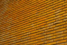 Free Yellow Brick Wall Stock Images - 2424044