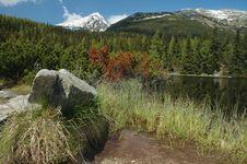 Free Jamske Lake In High Tatras Stock Photos - 2425693