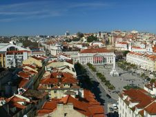 Free Panoramic Lisbon View Stock Photo - 2425760
