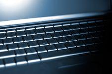 Free Laptop Keyboard Royalty Free Stock Photos - 2427028