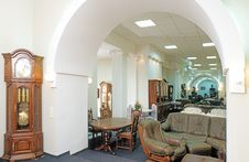 Interior Of Furniture Royalty Free Stock Photos