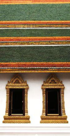 Free Thai Architecture Royalty Free Stock Photos - 2428488