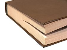 Free Slightly Slightly Opened Book Stock Photos - 2428743
