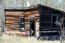 Derelict Cabin Stock Image