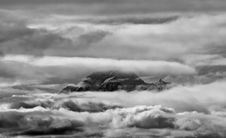 Free Mount Cook B&w Royalty Free Stock Photography - 2429287