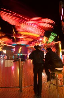 Free Merry Go Round Royalty Free Stock Photography - 2429427