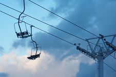 Free Chair Lift Royalty Free Stock Photos - 2429968