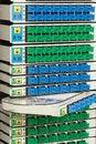 Free Fiber Optic Rack Stock Image - 24200561