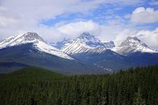 Free Mountain Landscape. Royalty Free Stock Photos - 24202088