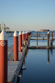 Free Empty Dock Stock Images - 24203004