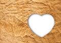 Free Heart-shaped Cloth Royalty Free Stock Photography - 24214317