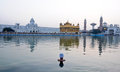 Free Devotees At Golden Temple Royalty Free Stock Images - 24218939