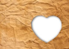 Free Heart-shaped Cloth Royalty Free Stock Photography - 24214317
