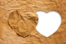 Free Heart-shaped Cloth Stock Photos - 24214333