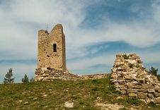 Free Ruined Tower Stock Photos - 24218483