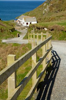 Free Path To Tintagel Beach And Castle Cornwall UK Royalty Free Stock Photo - 24219255