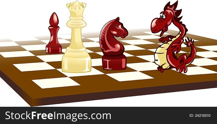Chess and  Dragon