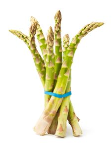 Free Bound Asparagus Cluster Royalty Free Stock Photography - 24221317