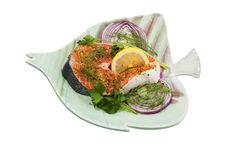 Free Pacific Salmon Steak Stock Images - 24222184