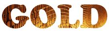 Free Golden Text Stock Photos - 24222223