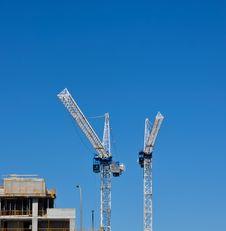 Free Two Cranes Stock Photos - 24222853