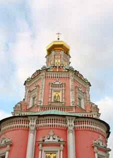 Free Temple Of The  Epiphany Monastery In Moscow Royalty Free Stock Image - 24222866