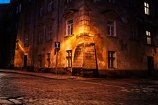 Free Old European Town Stock Image - 24224291