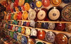Free Colourful Plates Stock Photo - 24225130