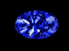 Free Blue Space Ellipse Stock Photos - 24226433