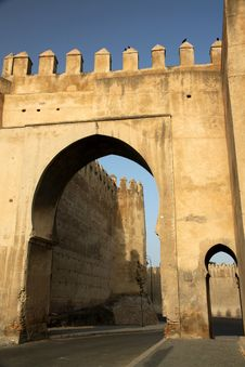 Free Gate To The Old City Of Fes Stock Photo - 24226500