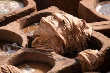 Free Tanneries Of Fes Royalty Free Stock Photos - 24227968