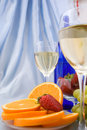 Free Clouseup Of Two Glasses Of Wine Royalty Free Stock Images - 24231789