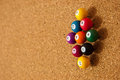 Free Cork Board With Tacks Stock Photography - 24236972