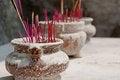 Free Burning Incense Stock Photo - 24237120