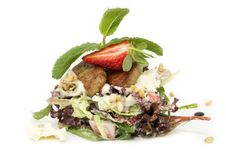 Free A Salad Of Vegetables And Meat Royalty Free Stock Images - 24232639