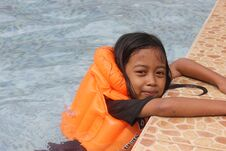 Free Children Swiming Stock Images - 24232854